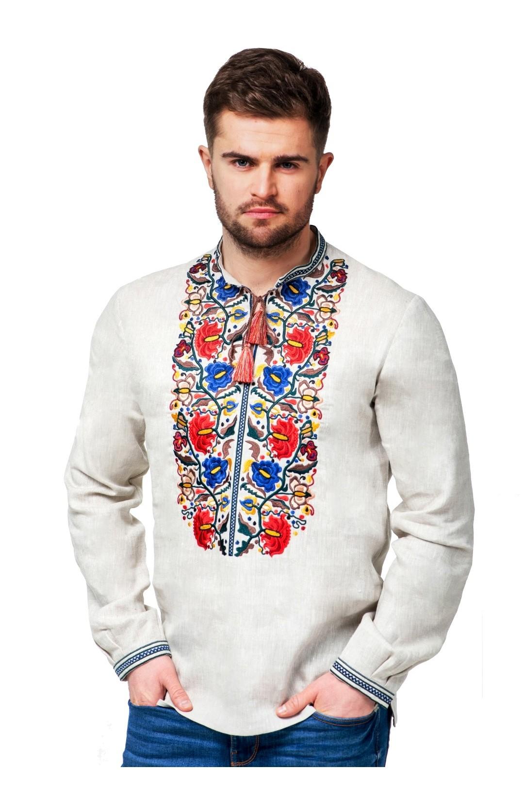 чоловічі сорочки вишиванки фото