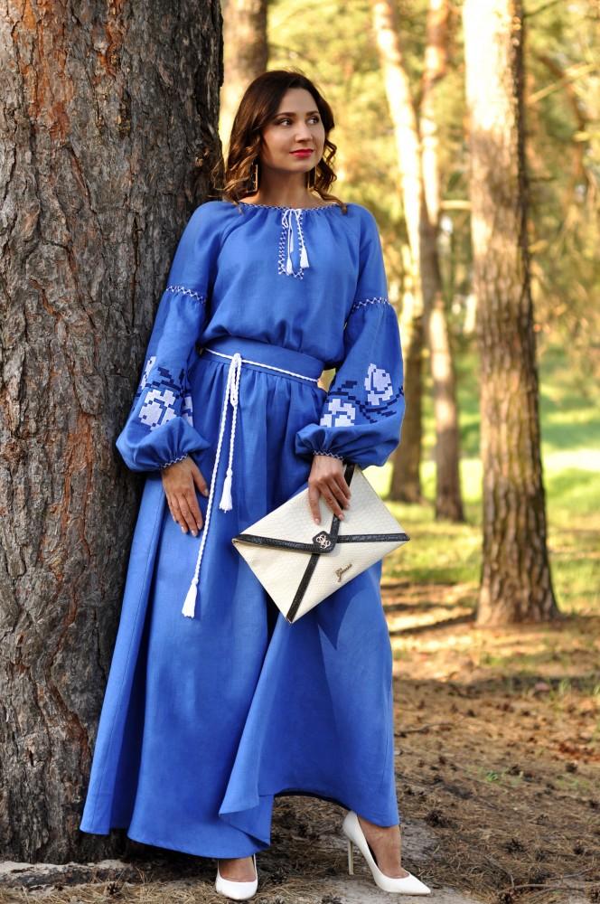 плаття вишиванка фото