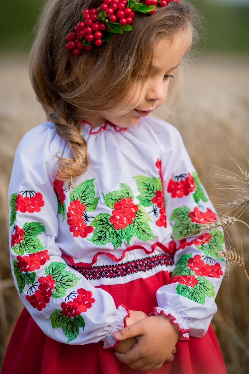 вишиванки для дівчаток фото