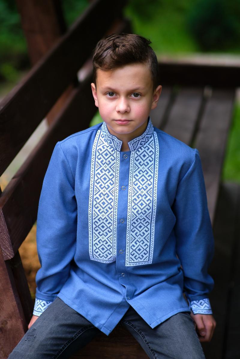 дитячі вишиті сорочки для хлопчиків фото